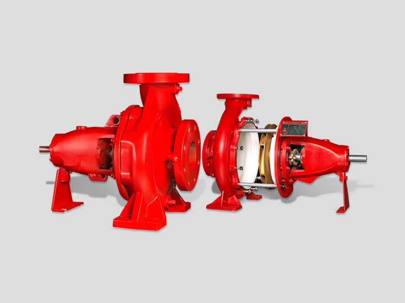 Centrifugal Fire Pumps End Suction