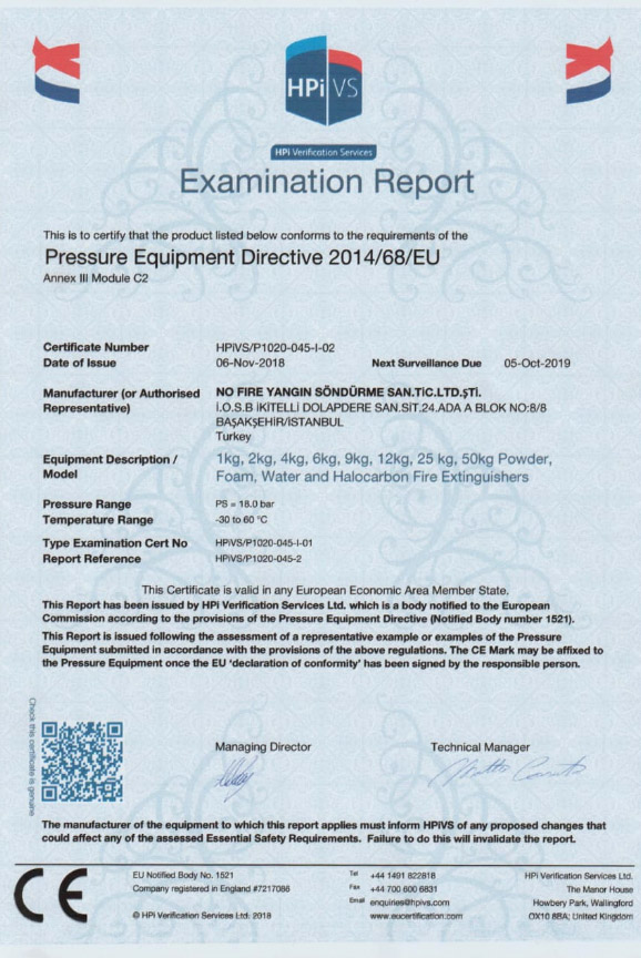 Examination Report of Trademark