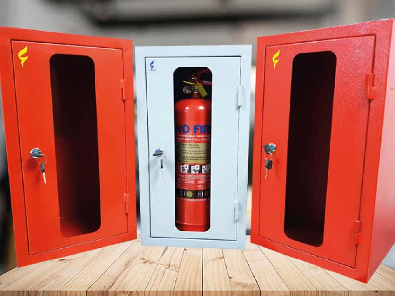 Fire Extinguisher Cabinet (Red)
