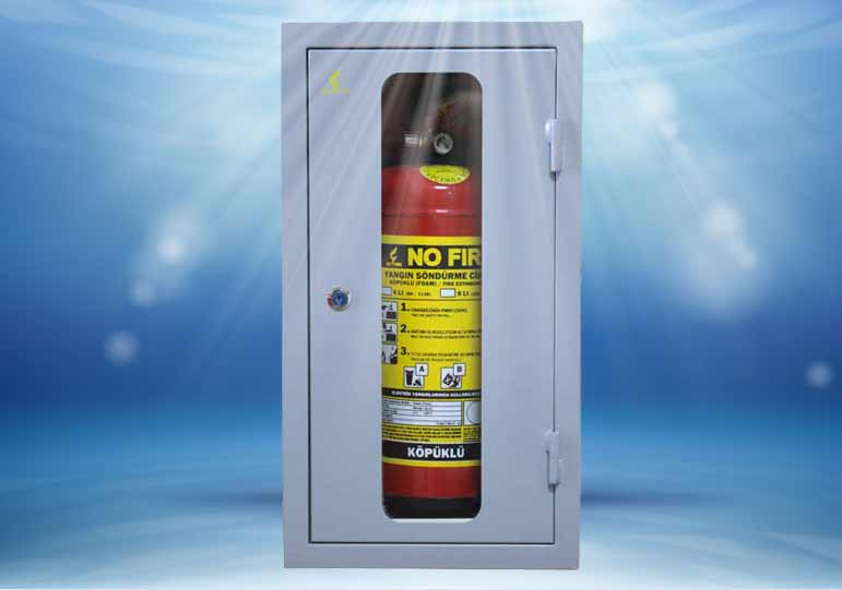 Fire Hose Cabinet Grey