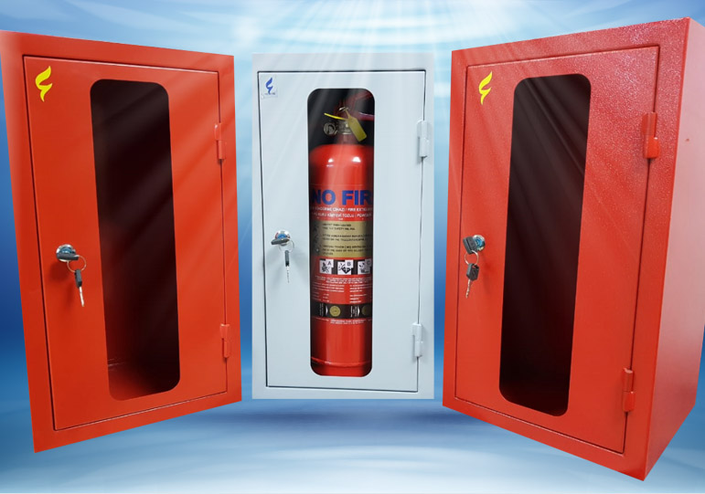 Fire Hose Cabinet Red