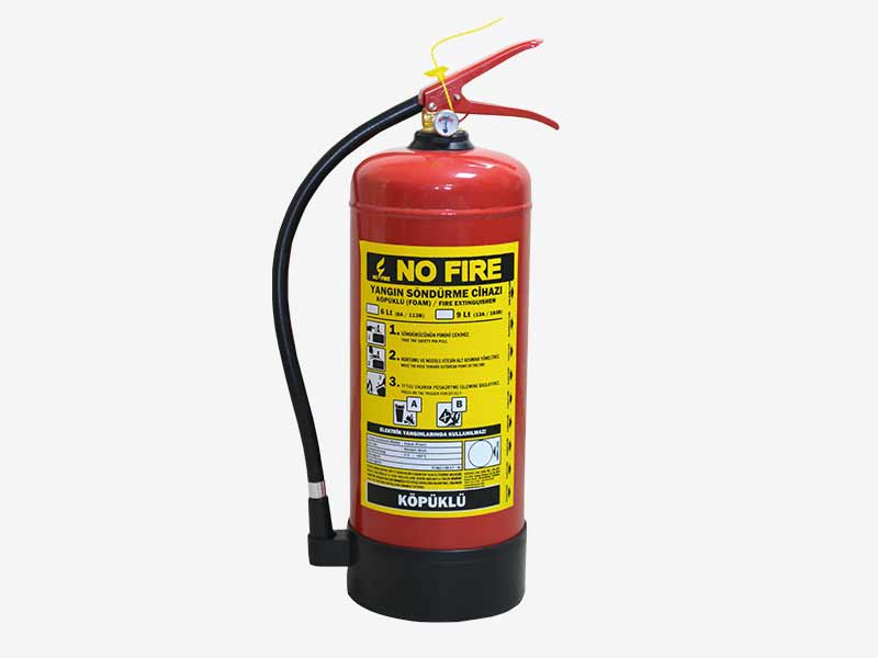 Portable Foam Fire Extinguishers